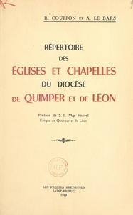R. Couffon et A. Le Bars - Répertoire des églises et chapelles du diocèse de Quimper et de Léon.