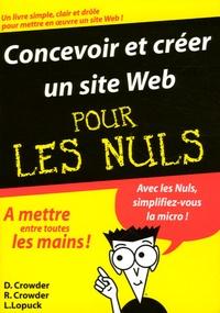 Accentsonline.fr Concevoir et créer un site Web Pour les Nuls Image