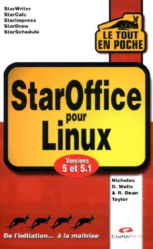 R-Dean Taylor et Nicolas-D Wells - StarOffice pour Linux - Versions 5 et 5.1.