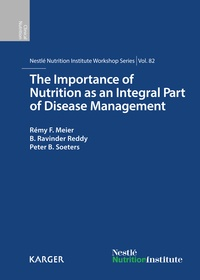 R. F. Meier et B. R. Reddy - The Importance of Nutrition as an Integral Part of Disease Management.