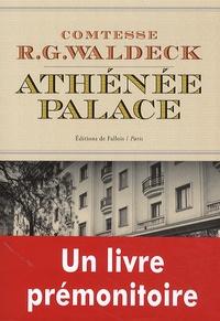 R.G Waldeck - Athénée Palace.