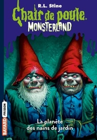 Anne Delcourt et R.l Stine - Monsterland, Tome 01 - L'invasion des nains de jardin.