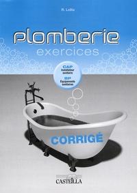 Histoiresdenlire.be Plomberie Exercices - Corrigé CAP installateur sanitaire, BP équipements sanitaires Image