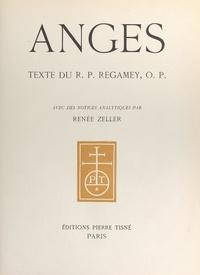 R. P. Regamey et Renée Zeller - Anges.
