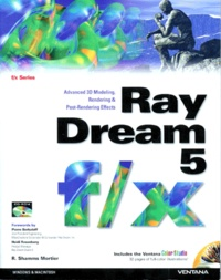 RAY DREAM 5 F/X. Avanced 3D modeling rendering and post-rendering effects, Included CD-ROM - R Shamms Mortier | Showmesound.org