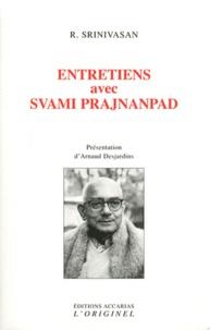 R Srinivasan - Entretiens avec Svami Prajnanpad.