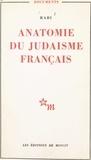 Rabi - Anatomie du judaïsme français.