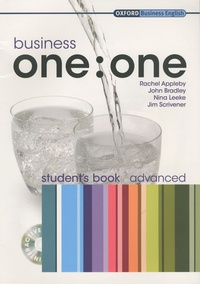 Rachel Appleby et John Bradley - Business one:one - Student's book advanced. 1 Cédérom
