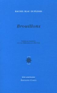 Rachel Blau DuPlessis - Brouillons - Choix de poèmes.