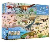 Rachel Firth et James Gilleard - Les dinosaures dans le temps - Coffret Livre et puzzle.