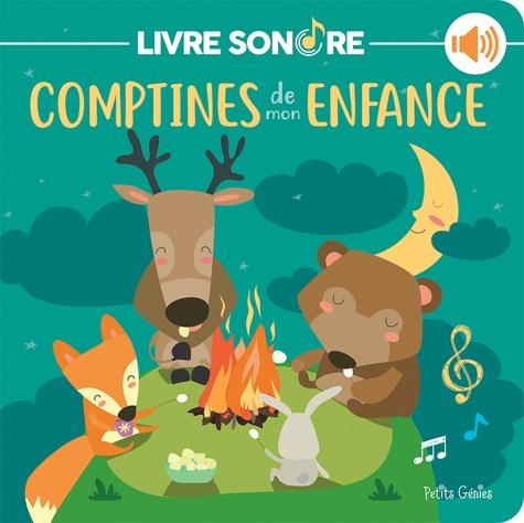 Comptines De Mon Enfance Livre Sonore Album