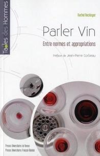 Rhonealpesinfo.fr Parlervin - Entre normesetappropriations Image