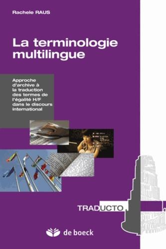 La terminologie multilingue. La traduction des termes de l'égalité H/F dans le discours international