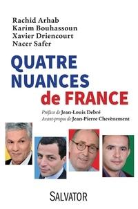 Rachid Arhab et Karim Bouhassoun - Quatre nuances de France.
