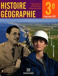 Histoire géographie, 3e- Manuel élève - Rachid Azzouz |