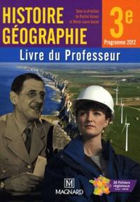 Histoire Géographie 3e- Livre du professeur - Rachid Azzouz |