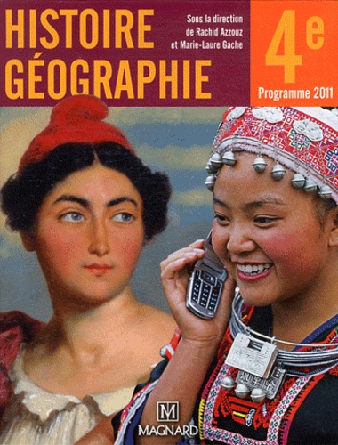 Histoire Geographie 4e Manuel Eleve Grand Format