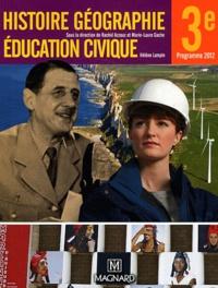 Histoire, géographie, éducation civique 3e- Manuel élève - Rachid Azzouz |