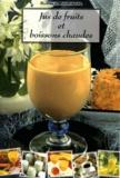 Rachida Amhaouche - Jus de fruits et boissons chaudes.