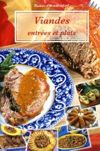 Rachida Amhaouche - Viandes - Entrées et plats.