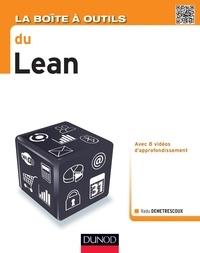 Livre de téléchargement La boîte à outils du Lean par Radu Demetrescoux in French 9782100725281