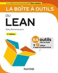Livre audio en téléchargements gratuits La boîte à outils du Lean ePub MOBI CHM par Radu Demetrescoux 9782100791422
