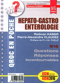 Radwan Kassir et Pierre-Alexandre Claudez - Hépato-gastro-entérologie.