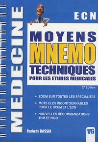 Radwan Kassir - Moyens mnemo techniques pour les études médicales.