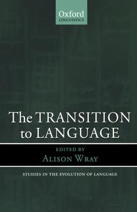 Rafael-C Gonzalez - The Transition to Language.