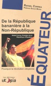 Galabria.be De la République bananière à la Non-République - Pourquoi la révolution citoyenne Image