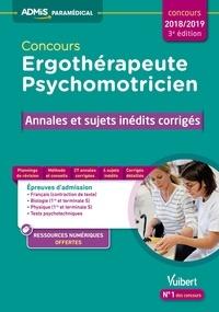 Conours ergothérapeute et psychomotricien - Annales et sujets inédits corrigés.pdf