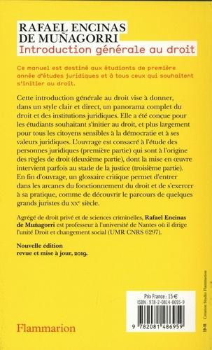 Introduction générale au droit 5e édition