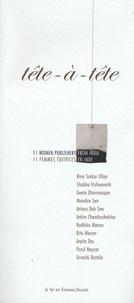 Rafeeq Ellias - Tête à tête - 11 femmes éditrices en Inde, édition bilingue français-anglais.