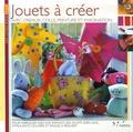 Raffaella Castagna et Gianluigi Spini - Jouets à créer - Avec ciseaux, colle, peinture et imagination.