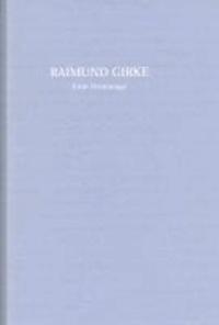 Raimund Girke: Eine Hommage.