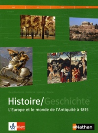 Histoire/Geschichte Manuel dhistoire franco-allemand - Tome 1, LEurope et le monde de lAntiquité à 1815.pdf