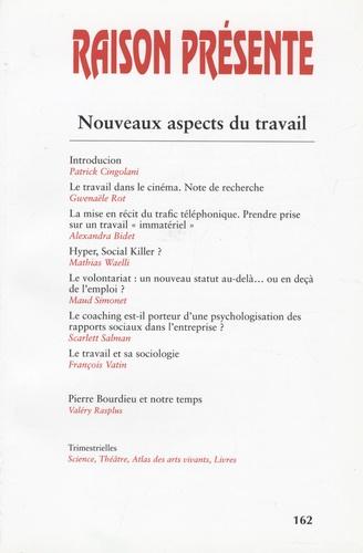 Patrick Cingolani - Raison présente N° 162, Juin 2007 : Nouveaux aspects du travail.