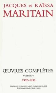 Raïssa Maritain et Jacques Maritain - .