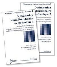 Optimisation multidisciplinaire en mécanique- 2 volumes - Rajan Filomeno Coelho |