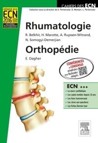 Rakiba Belkhir et Hubert Marotte - Rhumatologie Orthopédie.