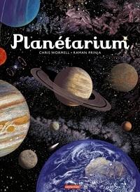 Raman Prinja et Chris Wormell - Planétarium.