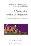 Ramon Ortiz de Urbina et Jean-Luc Richelle - L'animation, source de diagnostic - L'expérience d'un centre d'animation.