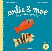 Ramona Badescu et Amélie Jackowski - Artie et Moe - Pas de sieste aujourd'hui !. 1 CD audio