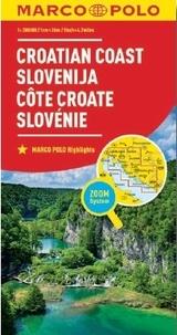 Marco Polo - Côte croate, Slovénie - 1/300 000.
