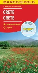 Marco Polo - Crète - 1/150 000.