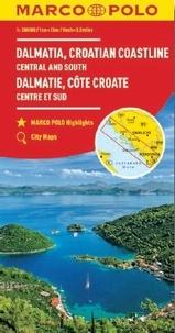 Marco Polo - Dalmatie, Côte croate Centre et Sud - 1/200 000.