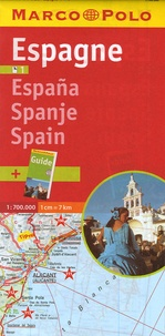 Marco Polo - Espagne - 1/700 000.