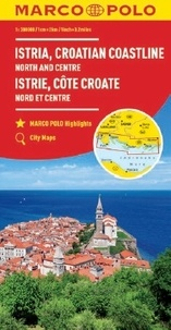 Marco Polo - Istrie, Côte croate Nord et Centre - 1/200 000.