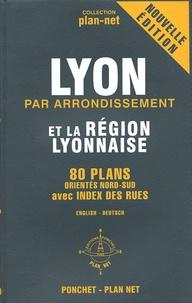 Lyon par arrondissement et la région lyonnaise - 80 Plans orientés Nord-Sud.pdf