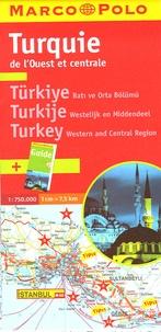 Marco Polo - Turquie de l'Ouest et centrale - 1/750 000.